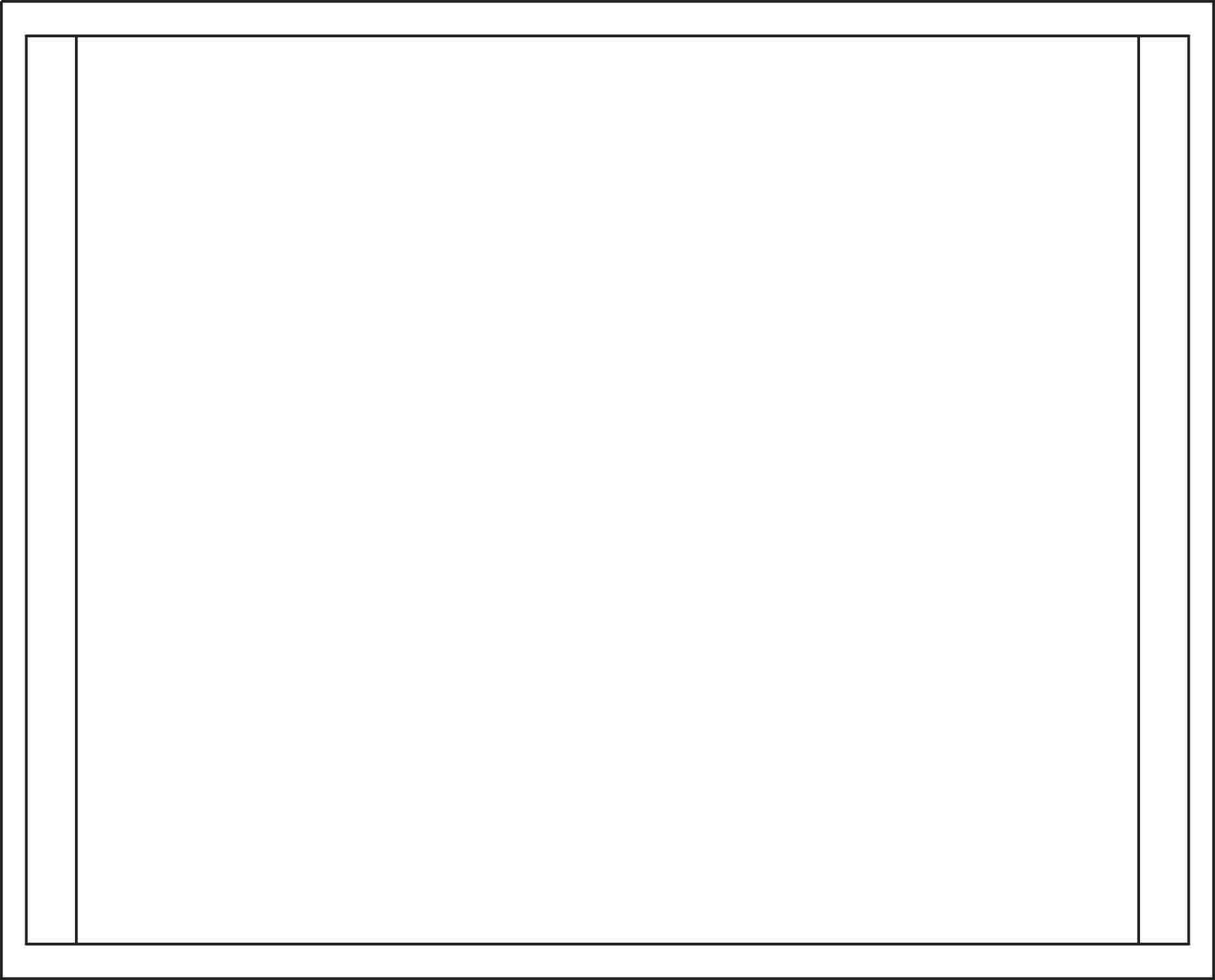 Blank album cover template