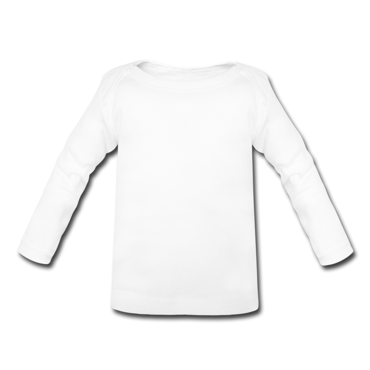 Blank Long Sleeve T-Shirt Template