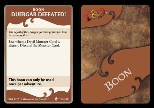 Board Game Cards Template
