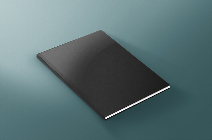 Book Cover Free Psd Mock UPS