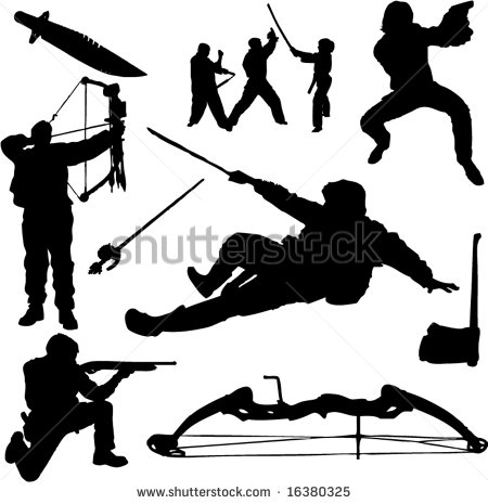 14 Bow Hunting Vector Images