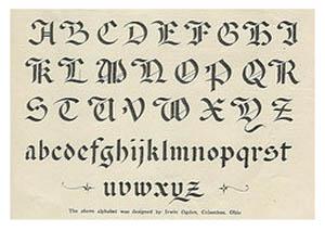Calligraphy Graffiti Alphabet Letters A Z