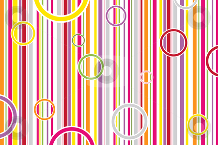 Circle S and Stripes Clip Art