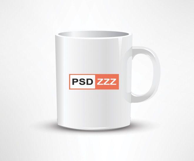 Coffee Mug PSD Mockup Free