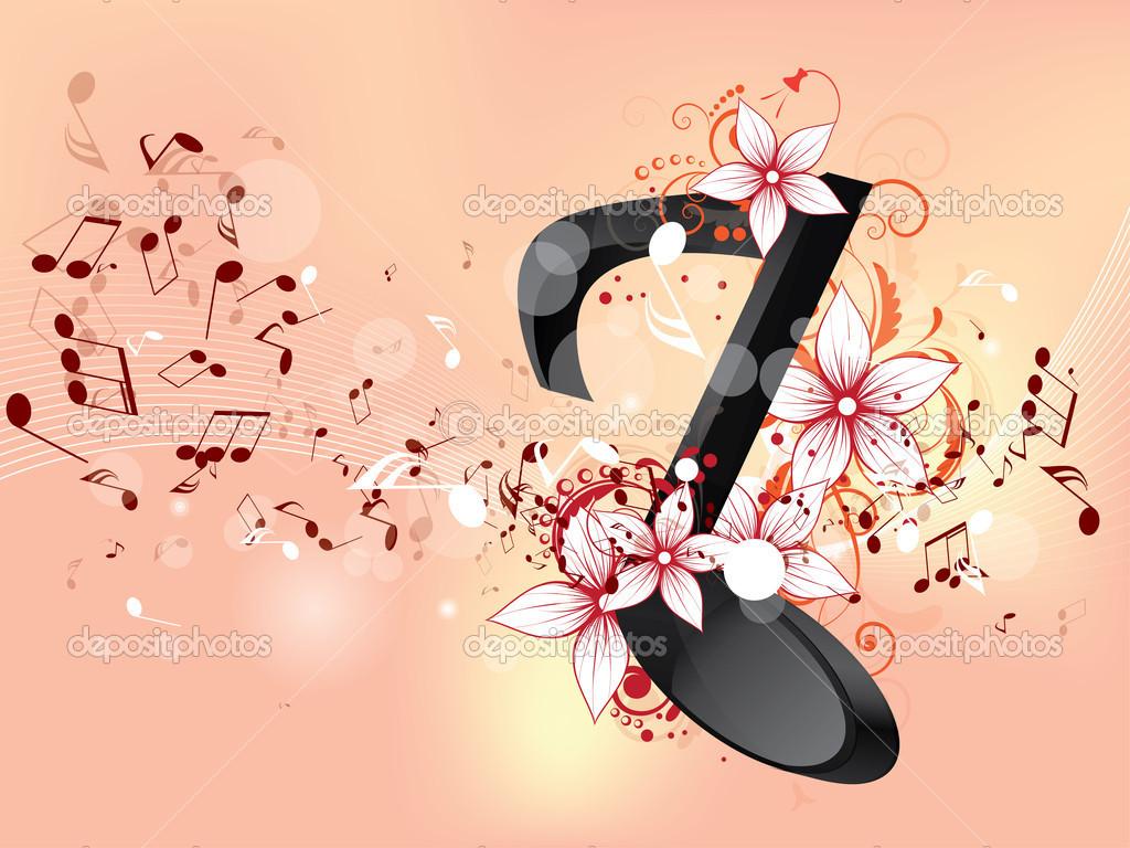 12 Cool Colorful Music Note Designs Images