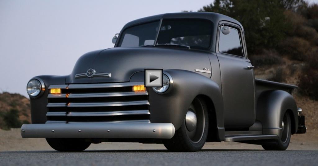 Custom 1950 Chevy Pickup Truck