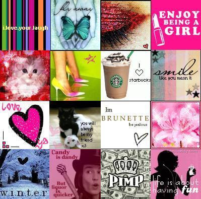 9 Cute Girly Icons Images