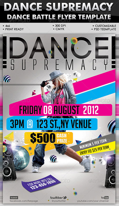 dance flyer free psd images free psd flyer templates download free