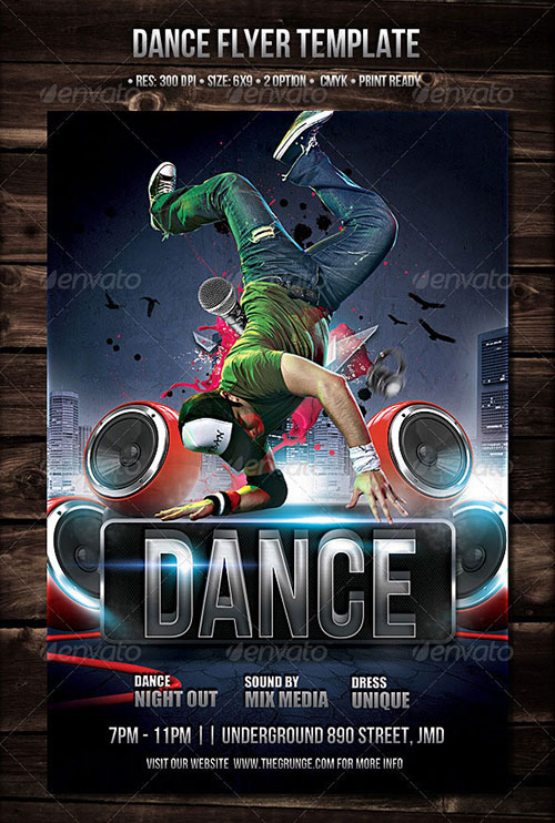 20 Dance Flyer Free PSD Images Free PSD Flyer Templates