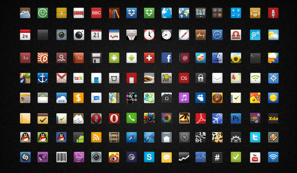 9 Android Icon Packs Images