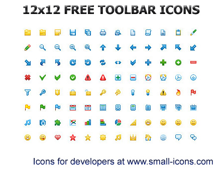 Download Free Toolbar Icons