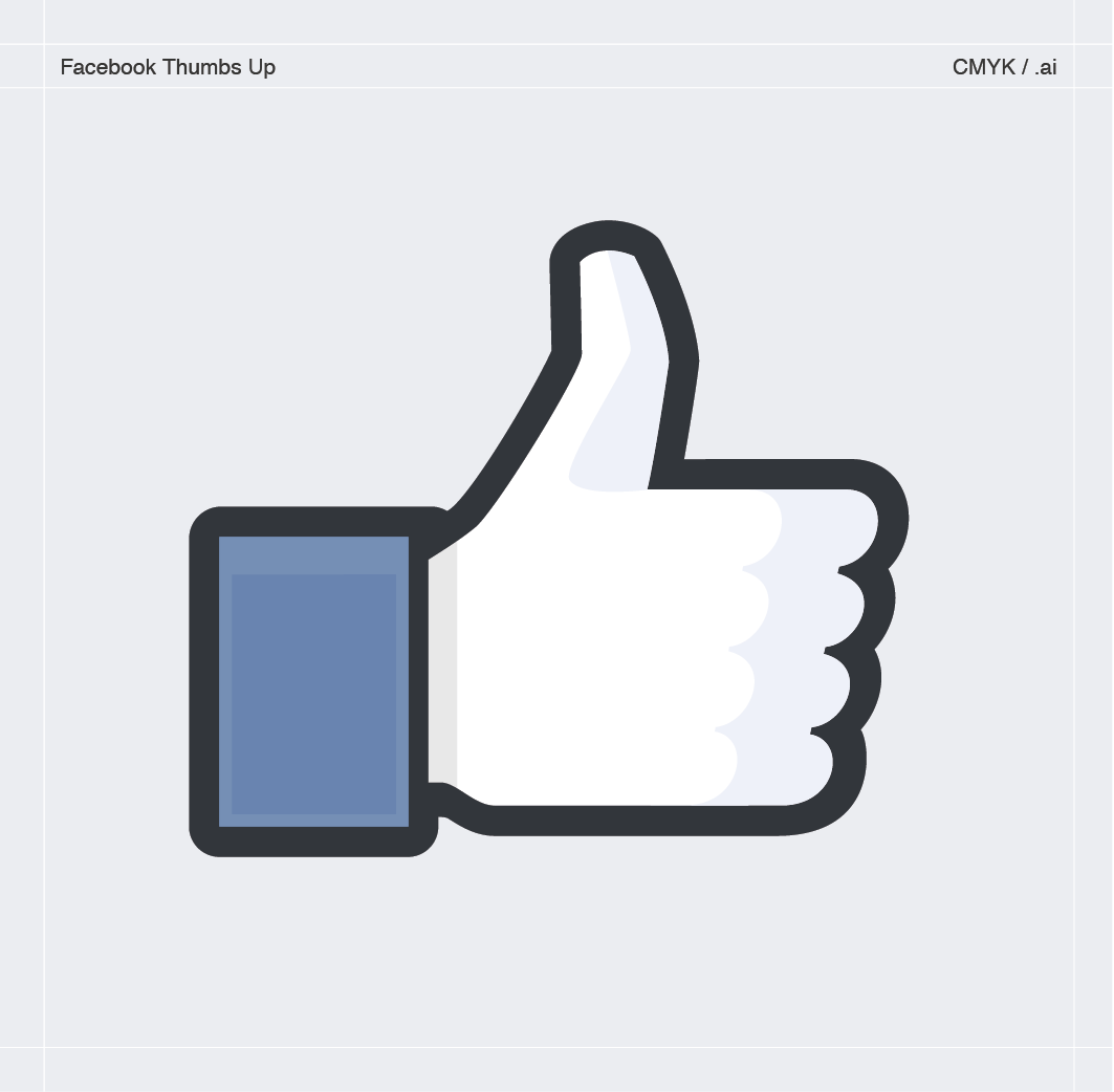Facebook Thumbs Up Vector