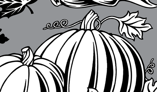 Fall Festival Clip Art Black and White