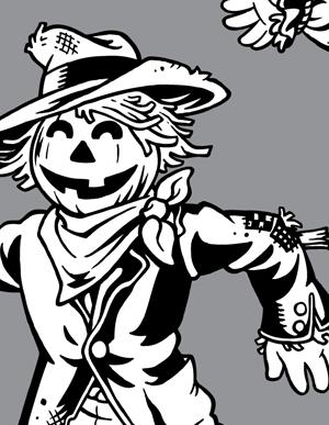 Fall Festival Scarecrow Clip Art