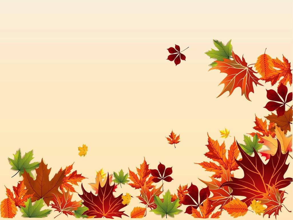 Fall Leaf Border Clip Art Free