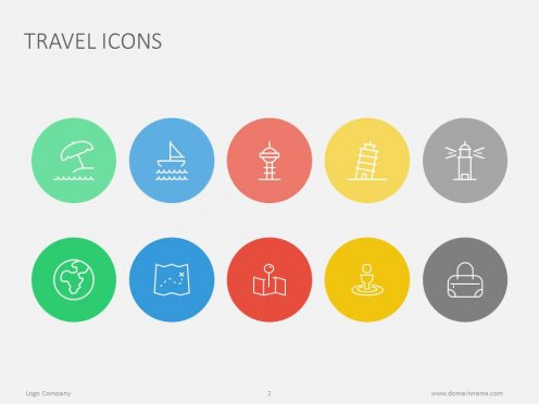 Flat Icons PowerPoint