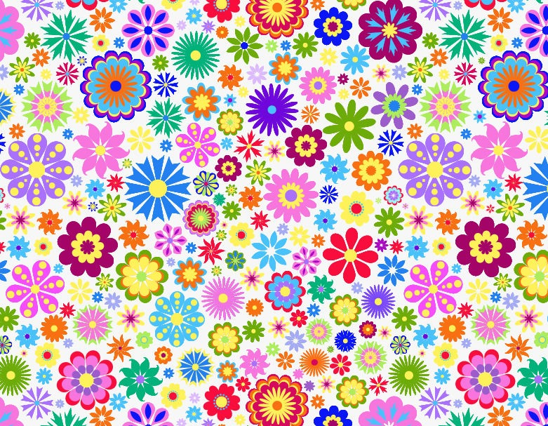 Flower Background Design Vector Illustration