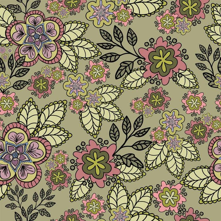 Flower Tumblr Vintage Floral Background