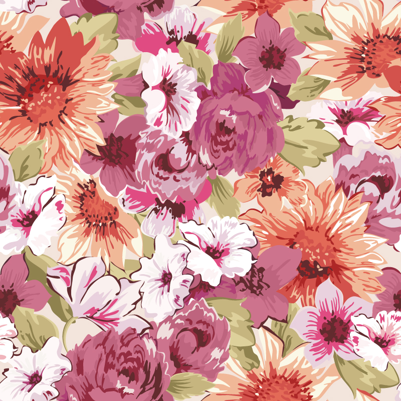 Flower Vector Floral Pattern