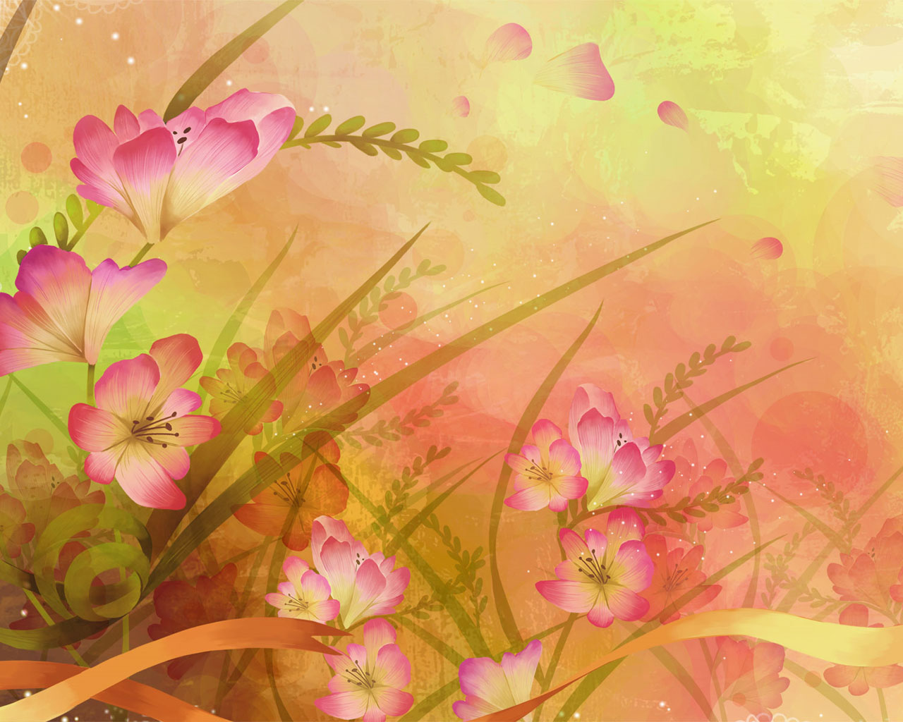 17 Floral Background Graphics Images - Free Abstract ...