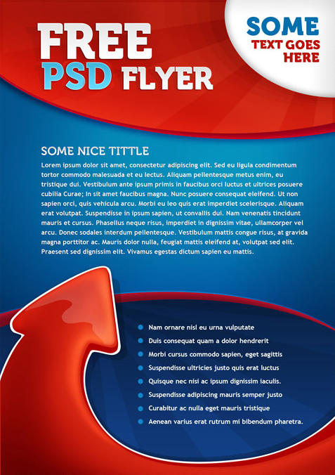14 Free PSD Flyer Templates Green Images