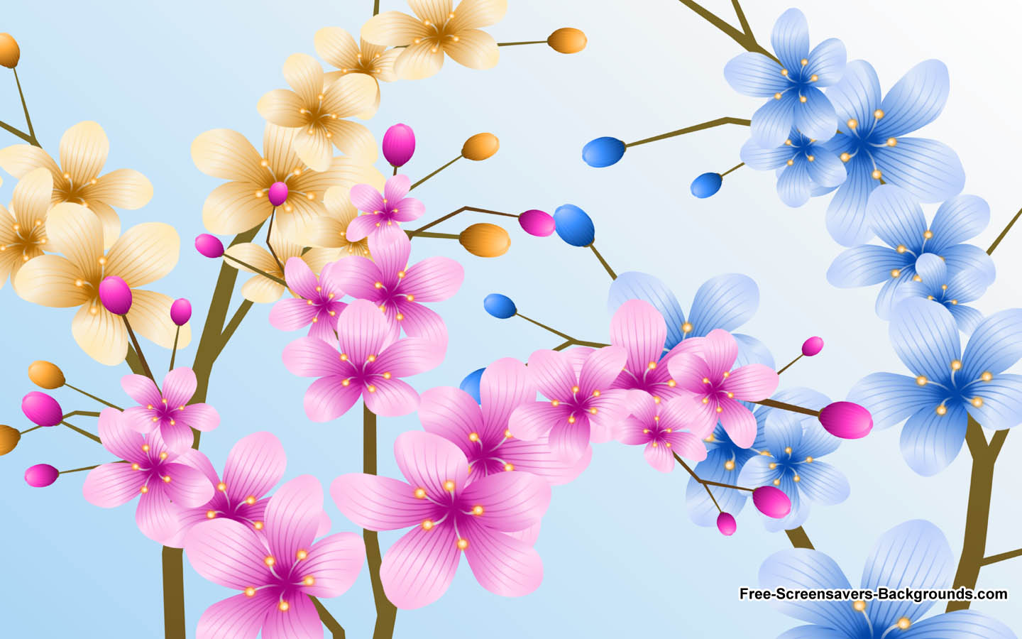 Free Flower Screensavers