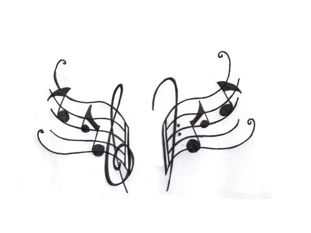 17 music note designs images music note star tattoo music note
