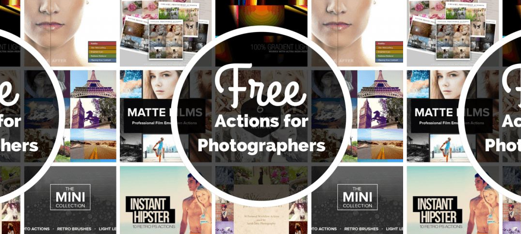 12 Free Photoshop Actions Images