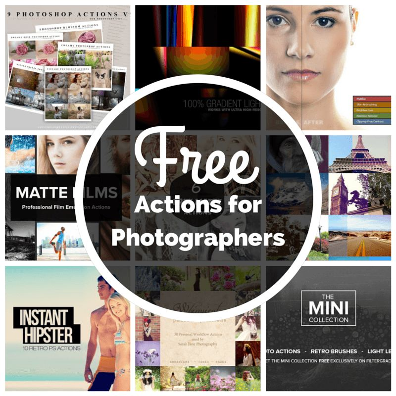 12 Free Photoshop Actions Images - Free Photoshop Actions
