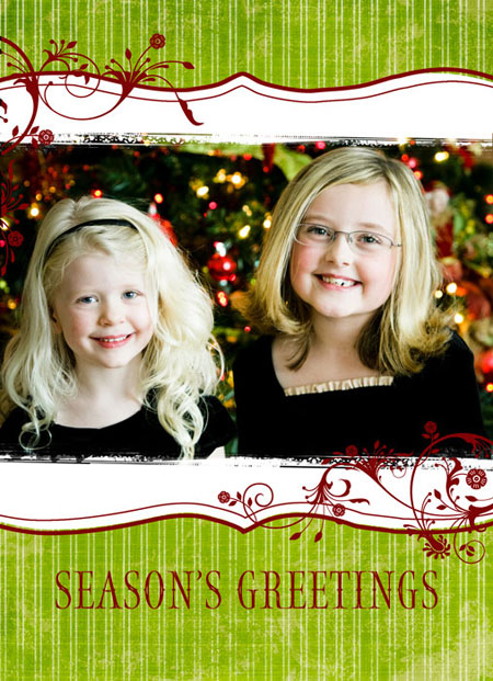 17 Holiday Card Photoshop Templates Free Images