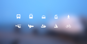 Free Transportation Icons