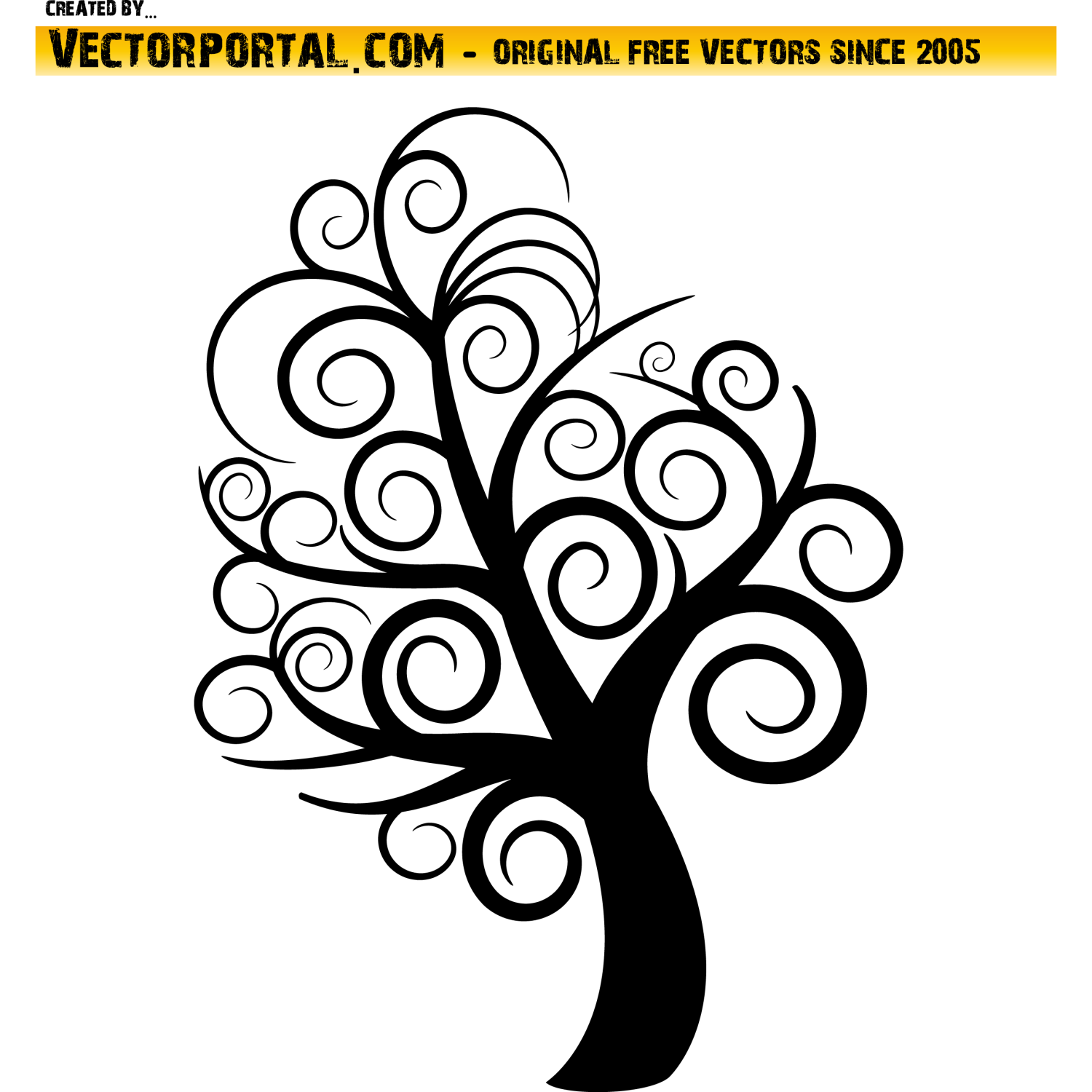 Free Tree Vector Art