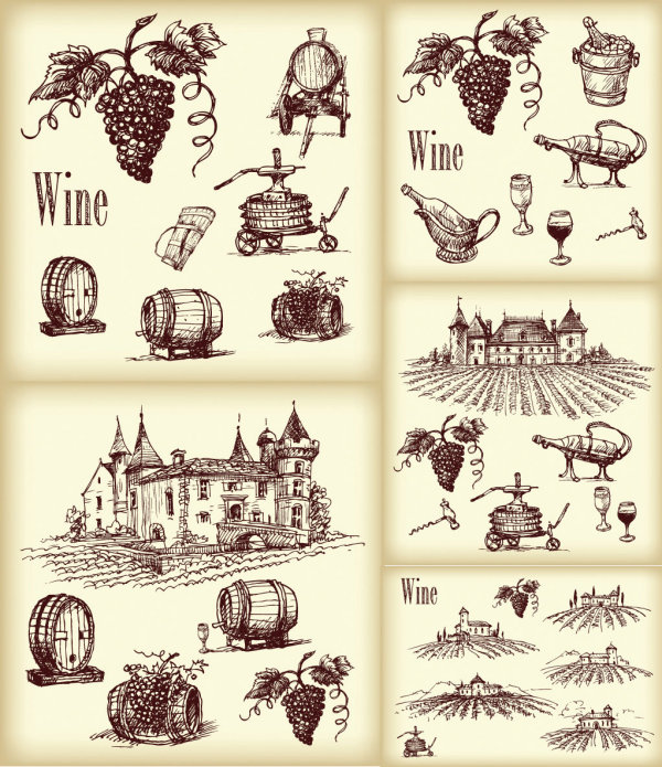 13 Wine Vector Free Images