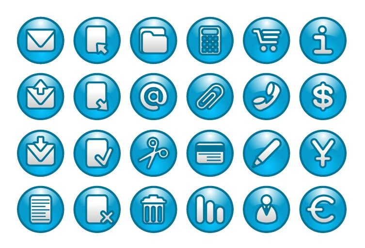 Free Website Buttons Icons