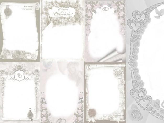 Free Wedding Frame Templates