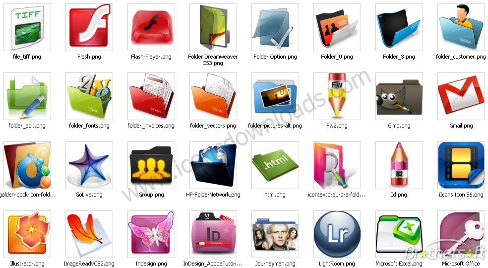 Free Windows Application Icons