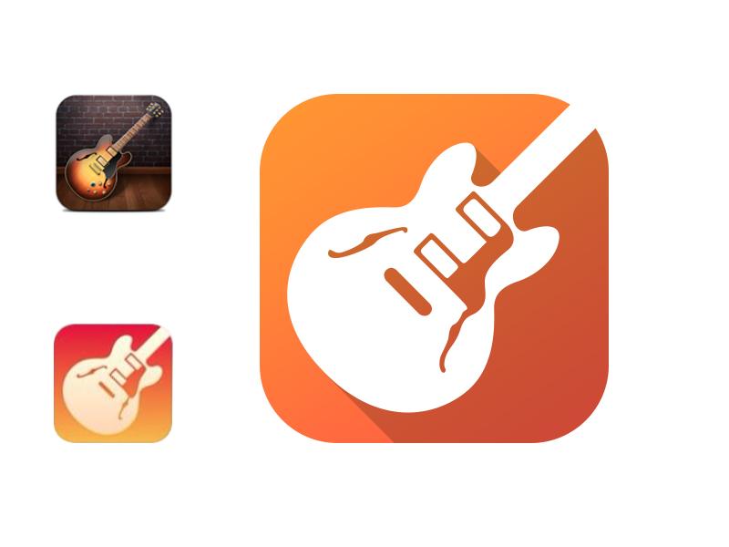 GarageBand iOS App Icon
