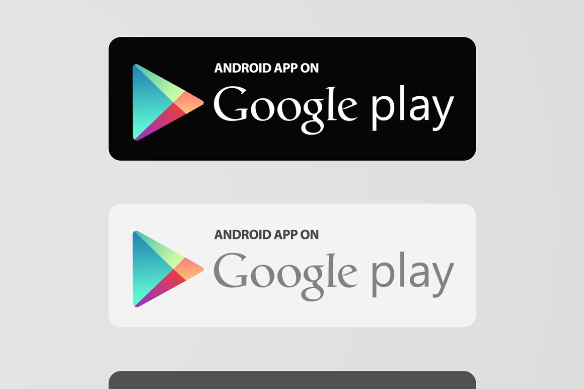 Get It On Google Play Logo Vector
