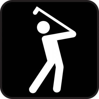 16 Golf Vector Clip Art Images