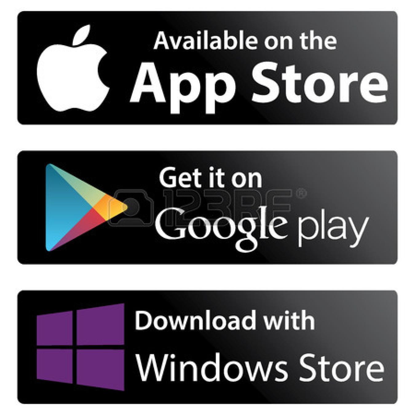 Google Play Store App Logos Apple