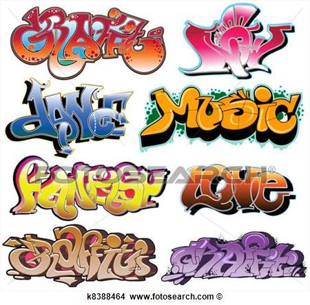 14 Graffiti Vector Art Images