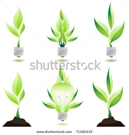 Growing Plant Vector Design