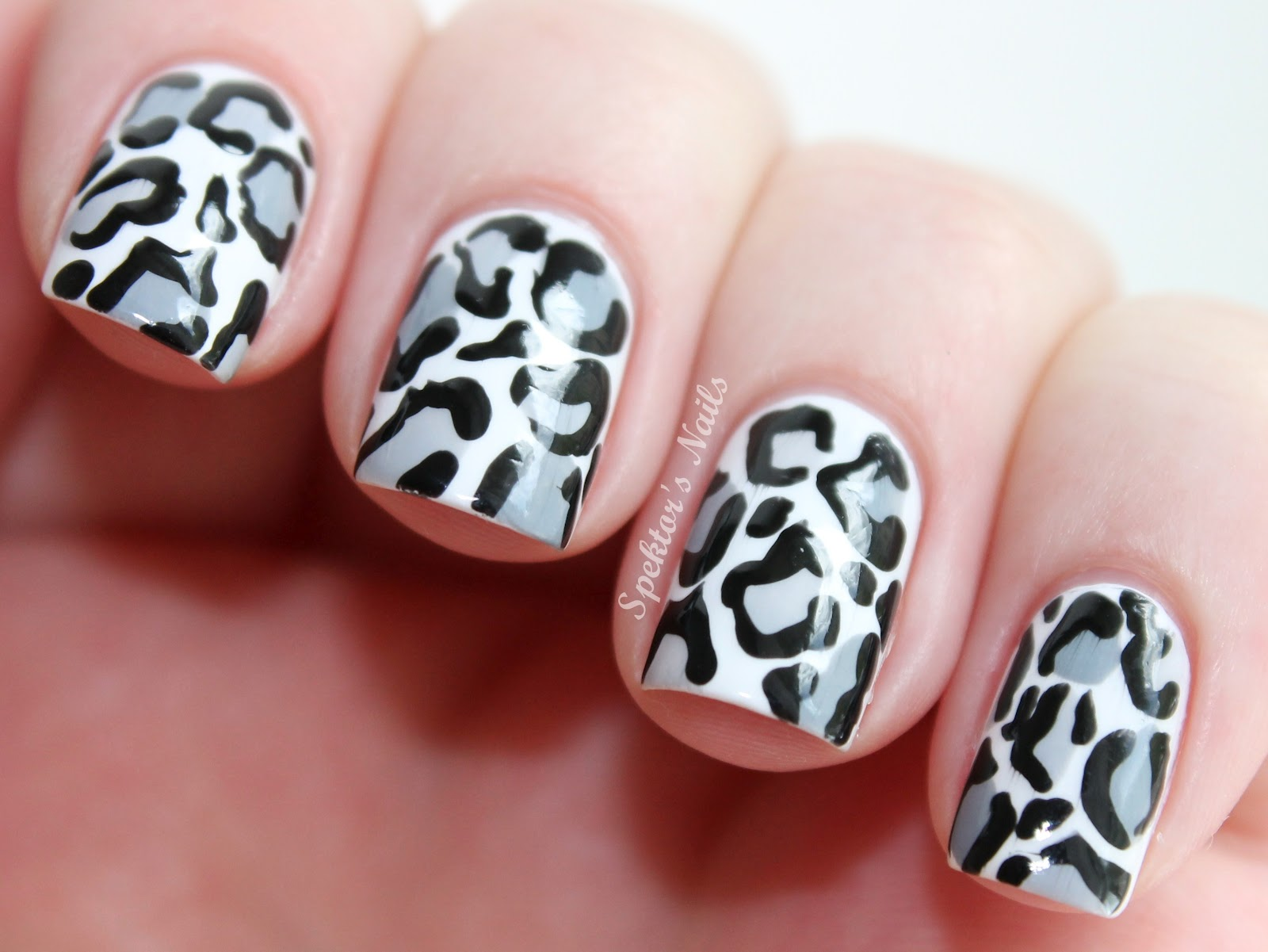 14 Leopard Nail Designs Images