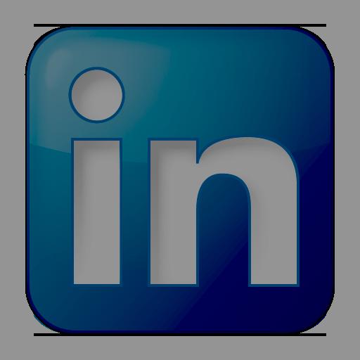 12 Grey LinkedIn Icon Images - LinkedIn Icon Transparent ...