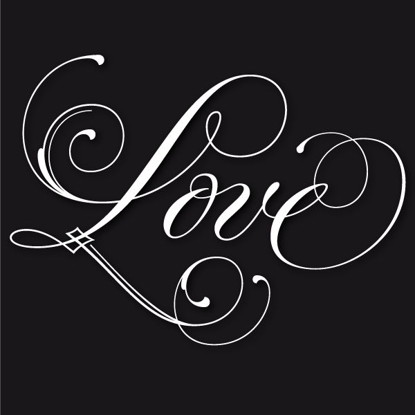 12 Love In Script Font Images - I Love You in Calligraphy ...  Love Calligraphy Font