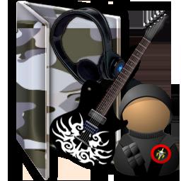 Military Folder Icon Windows