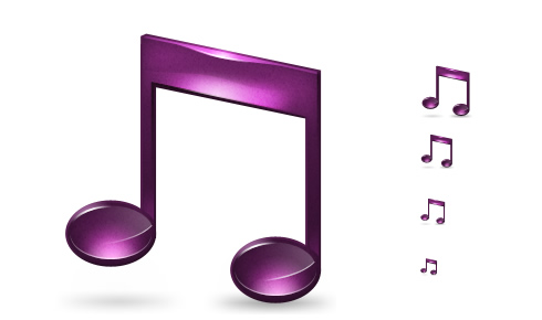 Music Note Icon Windows