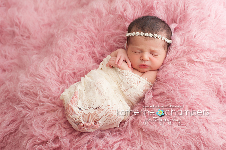 Newborn baby girl photography ideas