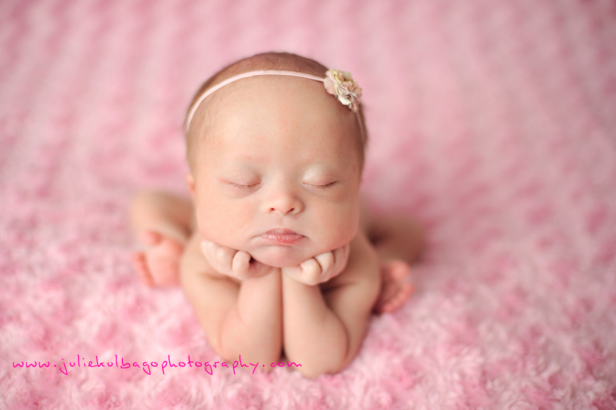 Infant girl picture ideas
