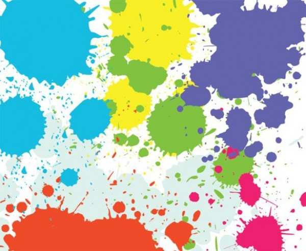 Paint Splash Vector